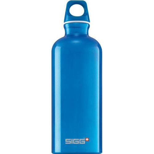 Sigg Blue Traveller Water Bottle 600ml_1